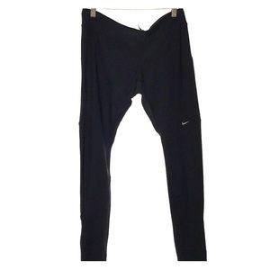 Nike Dri Fit Ankle Leggings | Black | Large